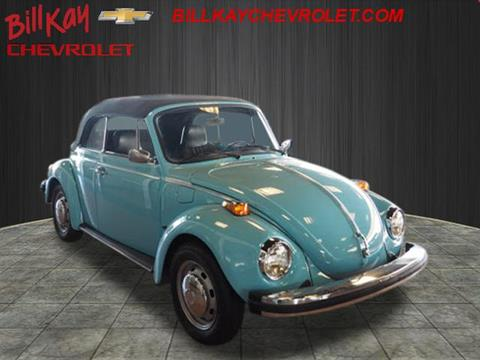 1976 Volkswagen Beetle for sale at Bill Kay Corvette's and Classic's in Downers Grove IL