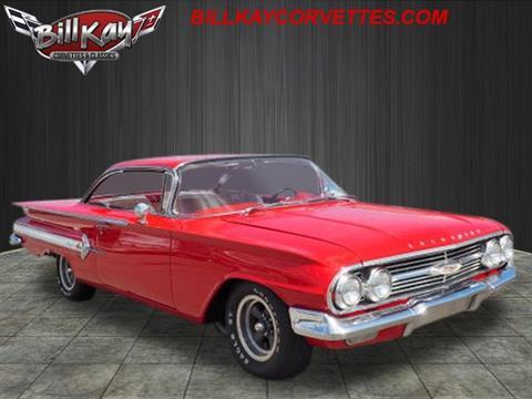 1960 Chevrolet Impala For Sale Carsforsale Com