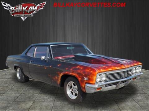1966 Chevrolet Biscayne for sale at Bill Kay Corvette's and Classic's in Downers Grove IL