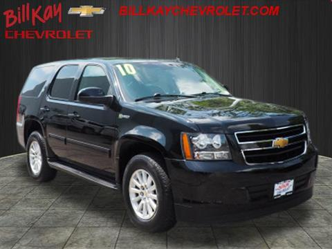 2010 Chevrolet Tahoe Hybrid For Sale In Lisle Il