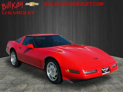 1996 Chevrolet Corvette for sale at Bill Kay Corvette's and Classic's in Downers Grove IL