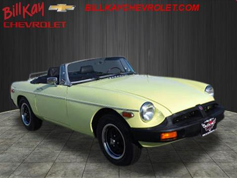 1977 MG Roadster for sale at Bill Kay Corvette's and Classic's in Downers Grove IL