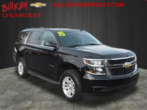 2015 Chevrolet Tahoe for sale at Bill Kay Corvette's and Classic's in Downers Grove IL