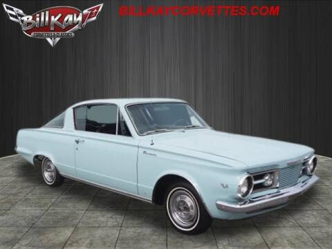 1965 Plymouth Barracuda for sale at Bill Kay Corvette's and Classic's in Downers Grove IL