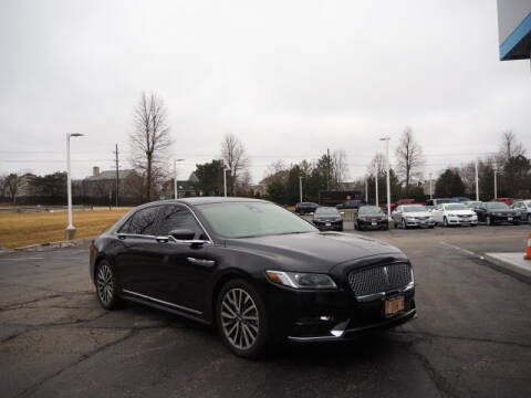 2019 Lincoln Continental for sale at Bill Kay Corvette's and Classic's in Downers Grove IL
