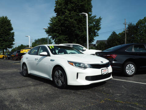2017 Kia Optima Plug-In Hybrid for sale at Bill Kay Corvette's and Classic's in Downers Grove IL