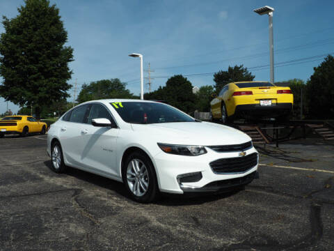 2017 Chevrolet Malibu for sale at Bill Kay Corvette's and Classic's in Downers Grove IL