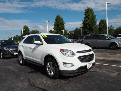 2016 Chevrolet Equinox for sale at Bill Kay Corvette's and Classic's in Downers Grove IL