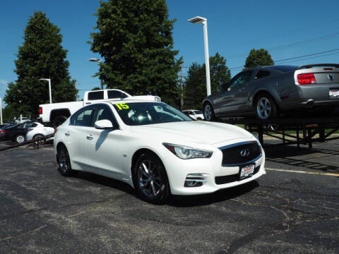 2017 Infiniti Q50 for sale at Bill Kay Corvette's and Classic's in Downers Grove IL