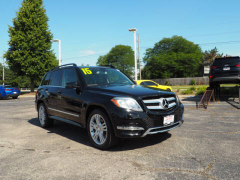 2015 Mercedes-Benz GLK for sale at Bill Kay Corvette's and Classic's in Downers Grove IL