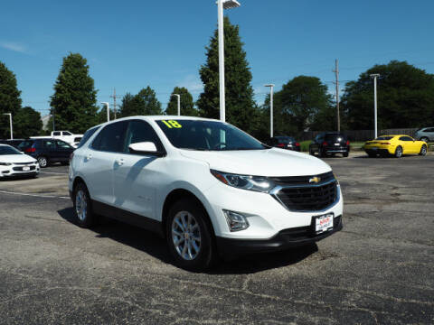 2018 Chevrolet Equinox for sale at Bill Kay Corvette's and Classic's in Downers Grove IL