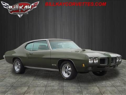 1970 Pontiac GTO for sale at Bill Kay Corvette's and Classic's in Downers Grove IL