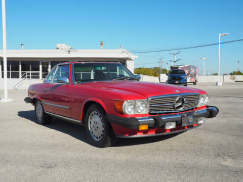 1989 Mercedes-Benz 560-Class for sale at Bill Kay Corvette's and Classic's in Downers Grove IL