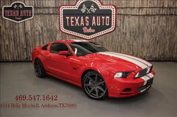 2014 Ford Mustang for sale in Addison, TX