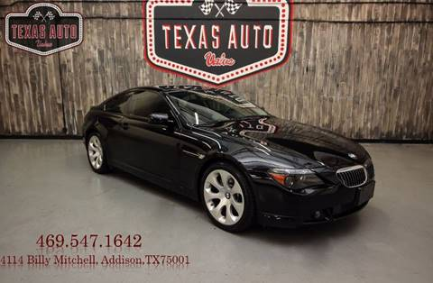 2007 BMW 6 Series for sale in Addison, TX