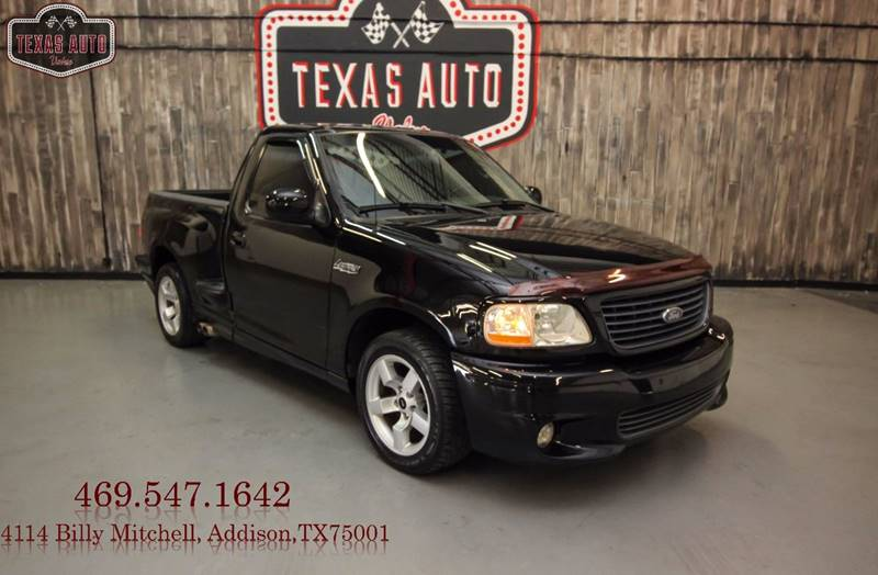 Ford F  Svt Lightning For Sale At Texas Auto Value In Addison Tx