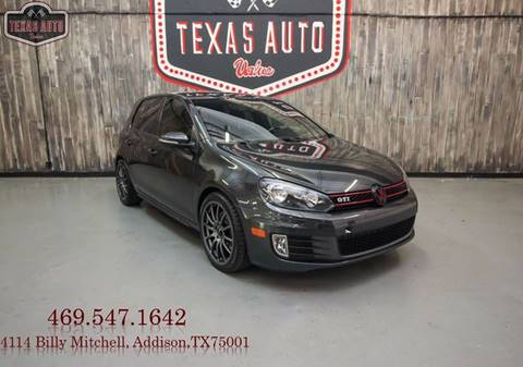 2013 Volkswagen GTI for sale in Addison, TX