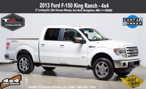 2013 Ford F-150 for sale in Addison, TX