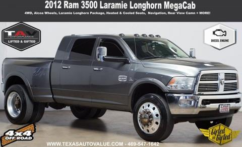 2012 RAM Ram Pickup 3500 for sale in Addison, TX
