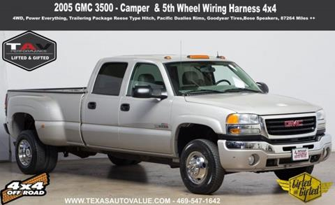 2005 GMC Sierra 3500 for sale in Addison, TX