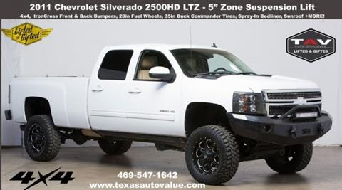 2011 Chevrolet Silverado 2500HD for sale in Addison, TX