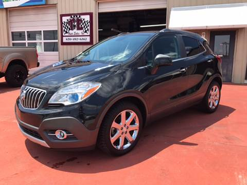 2013 Buick Encore for sale at T & C Auto Sales in Mountain Home AR