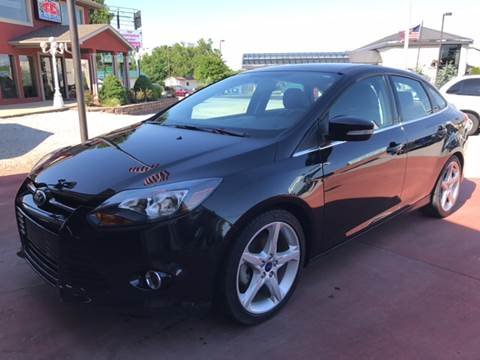2014 Ford Focus for sale at T & C Auto Sales in Mountain Home AR