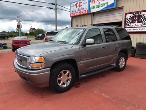 2005 GMC Yukon for sale at T & C Auto Sales in Mountain Home AR