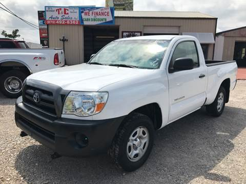 2007 Toyota Tacoma for sale at T & C Auto Sales in Mountain Home AR