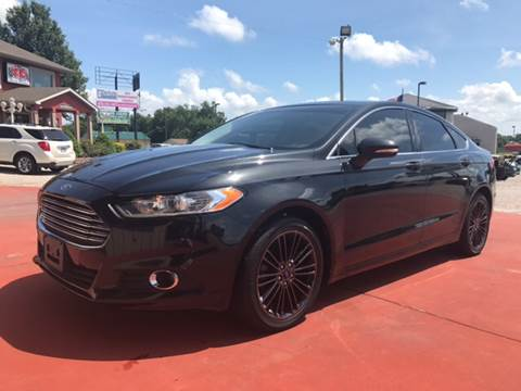2013 Ford Fusion for sale at T & C Auto Sales in Mountain Home AR