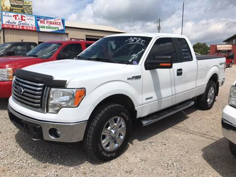 2011 Ford F-150 for sale at T & C Auto Sales in Mountain Home AR