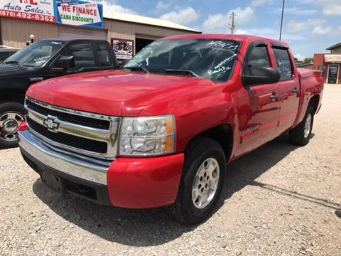 2008 Chevrolet Silverado 1500 for sale at T & C Auto Sales in Mountain Home AR