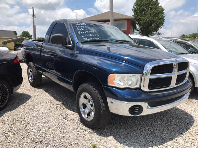 2005 Dodge Ram Pickup 1500 for sale at T & C Auto Sales in Mountain Home AR