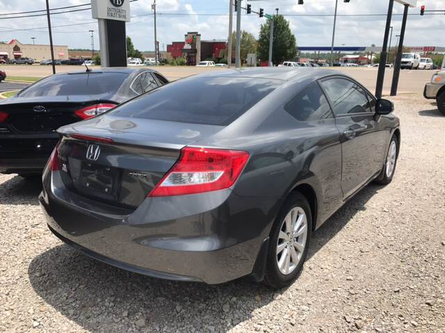2012 Honda Civic for sale at T & C Auto Sales in Mountain Home AR