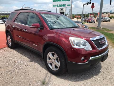 2008 GMC Acadia for sale at T & C Auto Sales in Mountain Home AR