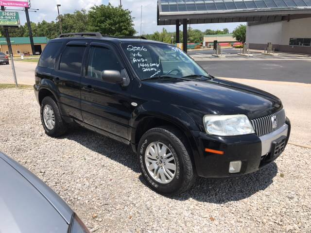2006 Mercury Mariner for sale at T & C Auto Sales in Mountain Home AR