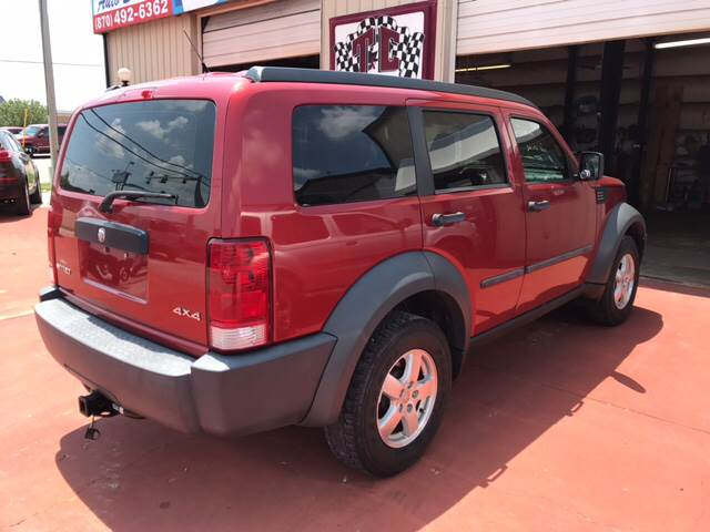 2007 Dodge Nitro for sale at T & C Auto Sales in Mountain Home AR