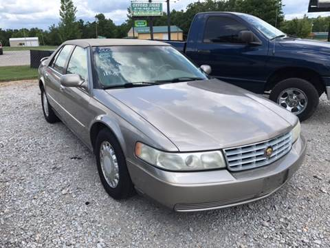 2001 Cadillac Seville for sale at T & C Auto Sales in Mountain Home AR