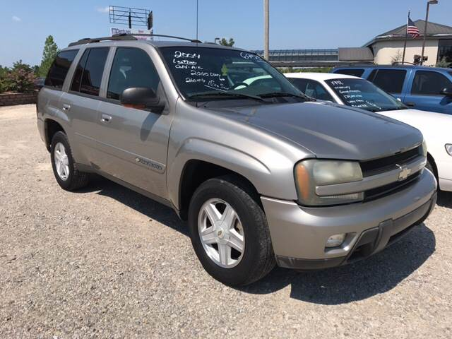 2002 Chevrolet TrailBlazer for sale at T & C Auto Sales in Mountain Home AR