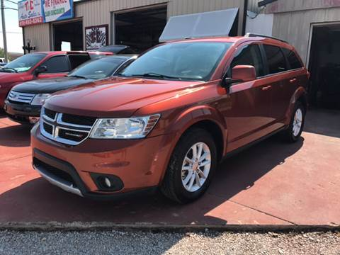 2014 Dodge Journey for sale at T & C Auto Sales in Mountain Home AR