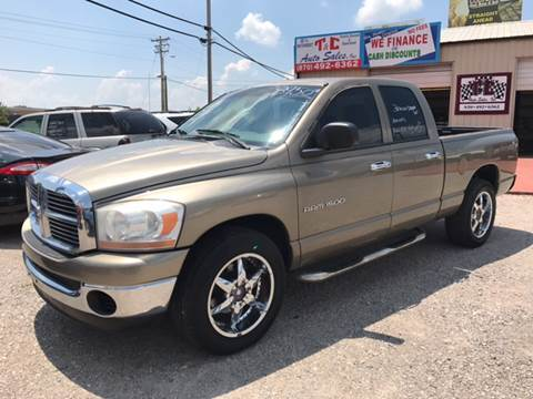 2006 Dodge Ram Pickup 1500 for sale at T & C Auto Sales in Mountain Home AR