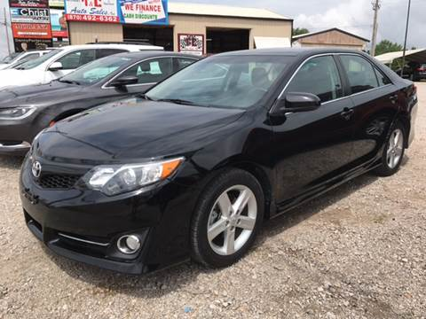 2014 Toyota Camry for sale at T & C Auto Sales in Mountain Home AR