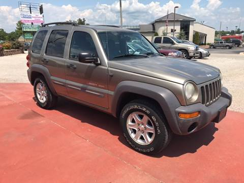 2003 Jeep Liberty for sale at T & C Auto Sales in Mountain Home AR
