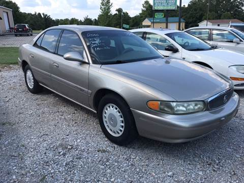 2000 Buick Century for sale at T & C Auto Sales in Mountain Home AR