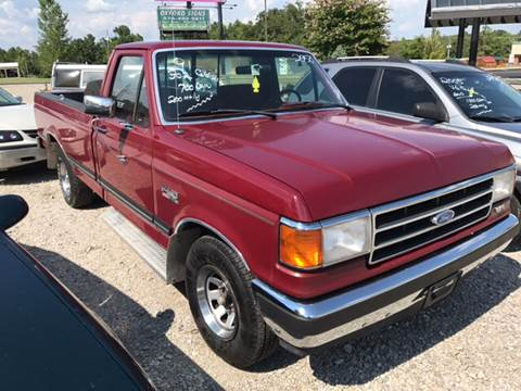 1991 Ford F-150 for sale at T & C Auto Sales in Mountain Home AR