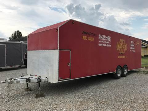 1989 S&S Welding 28' Trailer for sale at T & C Auto Sales in Mountain Home AR