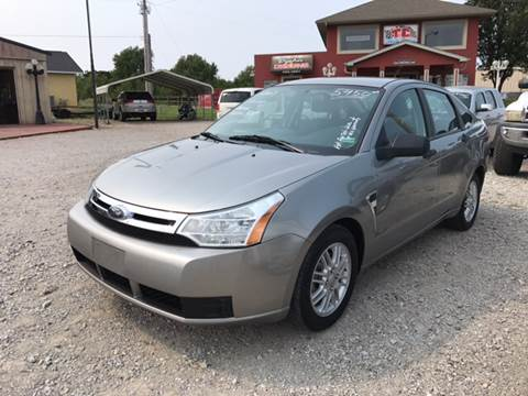 2008 Ford Focus for sale at T & C Auto Sales in Mountain Home AR
