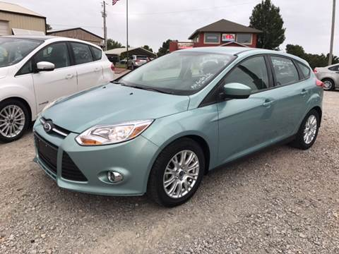 2012 Ford Focus for sale at T & C Auto Sales in Mountain Home AR