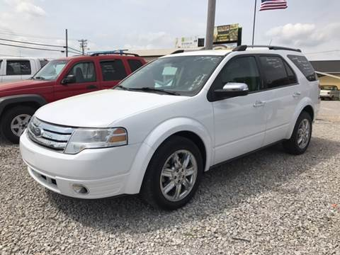 2008 Ford Taurus X for sale at T & C Auto Sales in Mountain Home AR