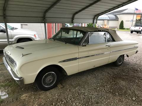1963 Ford Falcon for sale at T & C Auto Sales in Mountain Home AR